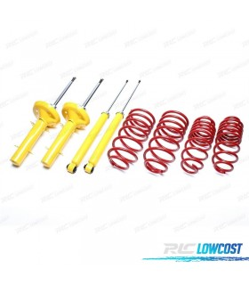 KIT DE SUSPENSAO DESPORTIVA PEUGEOT 206 / 206 SW / 206 CC / 206 RC 08/1998-2006