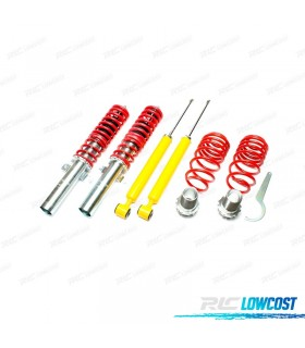 KIT SUSPENSAO REGULAVEL COILOVER AUDI A2 8Z 1999 - 2005