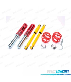 KIT SUSPENSAO REGULAVEL COILOVER SEAT LEON 2001 - 2006