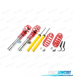 KIT SUSPENSAO REGULAVEL COILOVER VOLKSWAGEN GOLF 5 11/2003 - 2008
