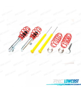 KIT SUSPENSAO REGULAVEL COILOVER FORD FIESTA