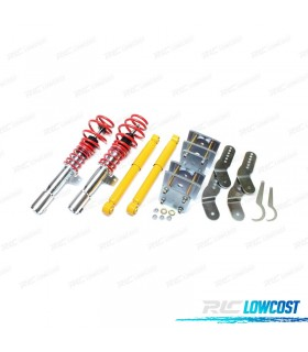 KIT SUSPENSAO REGULAVEL COILOVER VOLKSWAGEN CADDY 2003 -