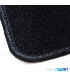ALFOMBRILLAS VW GOLF 5 SIN LOGO RIBETE NEGRO