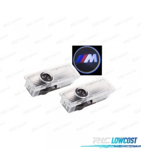 KIT PROJECTOR LED LOGO / BMW M PARA PORTAS
