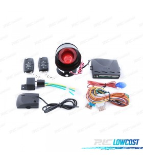 KIT FECHO CENTRAL COM ALARME UNIVERSAL