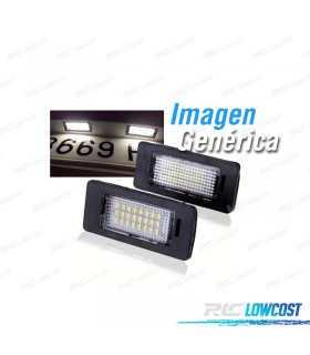 LUZ DE MATRICULA LED PARA VW GOLF 6 08+ SCIROCCO 08+