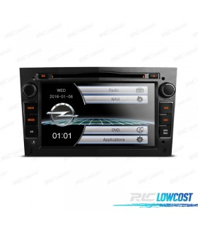 "RADIO NAVEGADOR 7"" OPEL COLOR NEGRO OSCURO USB GPS TACTIL HD"