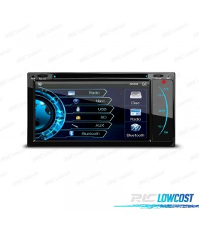 "AUTO RADIO 2DIN GPS 7"" HD TÁCTIL TOYOTA BLUETOOTH USB SD"