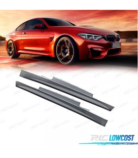 EMBALADEIRAS LATERAIS BMW SERIE 4 F32 13- LOOK M*REVISADO*