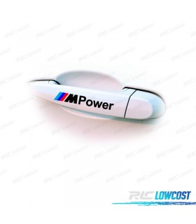 4 AUTOCOLANTES M-POWER PRETOS OU BRANCOS