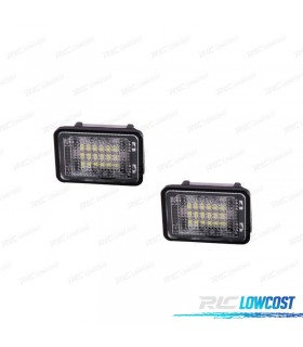 Luz de matricula LED Mercedes Benz GLK X204 (2007-2013)