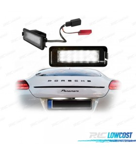 LUCES DE MATRÍCULA LED PORSCHE 911 CARRERA TURBO / GT2 996T Y 997T (2001-2011)