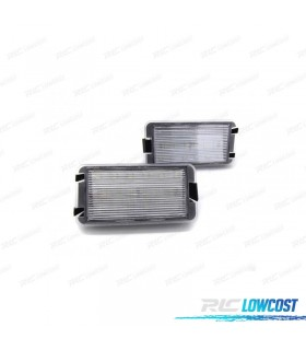 LUZ DE MATRICULA LED SEAT ALTEA (2004-2010)