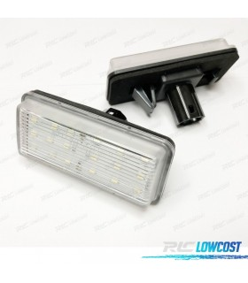 LUCES DE MATRÍCULA LED TOYOTA LAND CRUISER J100 (98-07)