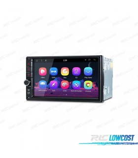 "AUTO RADIO GPS UNIVERSAL 2DIN CON ANDROID 8.1 HDMI LCD TÁCTIL 7"" BLUETOOTH Y USB"
