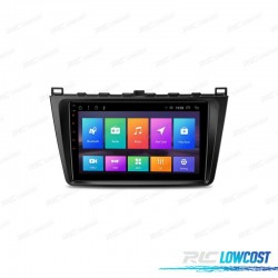 """AUTO RADIO GPS 9 """"TOUCH LCD PARA MAZDA 6 ANDROID 8.1 CANBUS WIFI BLUETOOTH"""