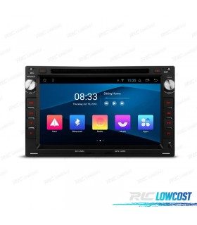 GPS LCD TÁCTIL 7' PARA SKODA VW SEAT ANDROID 8.1 CANBUS BLUETOOTH