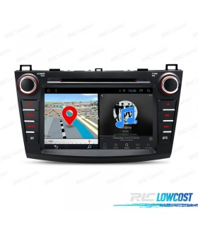 """AUTO RADIO GPS ANDROID 8.1 LCD TÁCTIL 8"""" MAZDA 3 ANDROID 8.1 BLUETOOTH WIFI"""