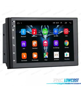 AUTO RADIO GPS 2DIN 7 TÁCTIL ANDROID BLUETOOTH USB SD