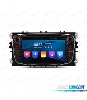 """AUTO RADIO GPS 7"""" PARA FORD FOCUS MONDEO...ANDROID 8.1 CANBUS"""