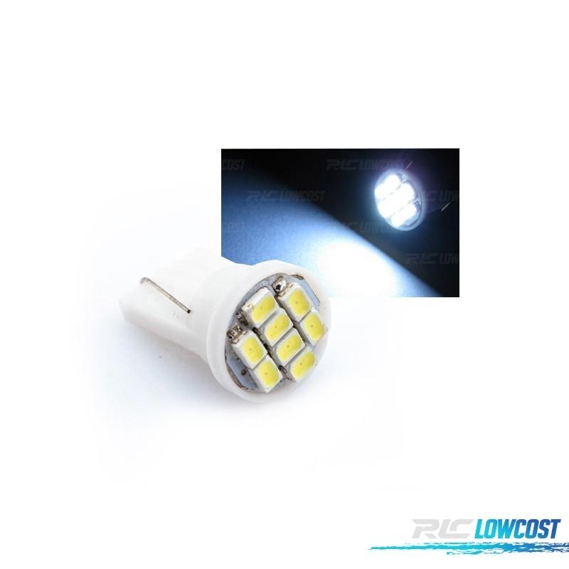 LAMPADA 8 LED T10 INTERIOR