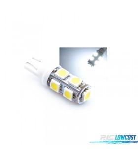 LAMPADA LED T10 9 SMD MINIMOS