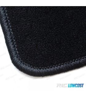 TAPETES VELUDO SEM SÍMBOLO SEAT / LEON 1P / 04-12 / CONTORNO PRETO