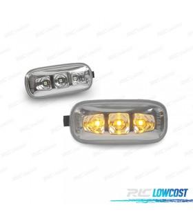 PISCAS LATERAIS LED / AUDI A4 B6 B7 / 01-07 / CROMADOS