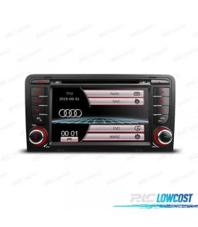 "AUTO RADIO 2DIN 7"" AUDI A3 8P 03-12 USB GPS TACTIL HD"
