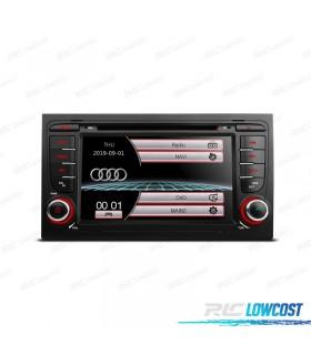 "RADIO NAVEGADOR 7"" AUDI A4 B6/B7 00-07 USB GPS TACTIL HD*NUEVO*"