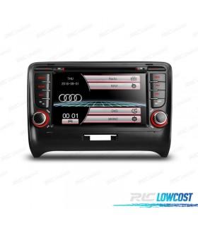 """AUTO RADIO 2DIN 7"""" AUDI TT 06-12 USB GPS TACTIL HD"""