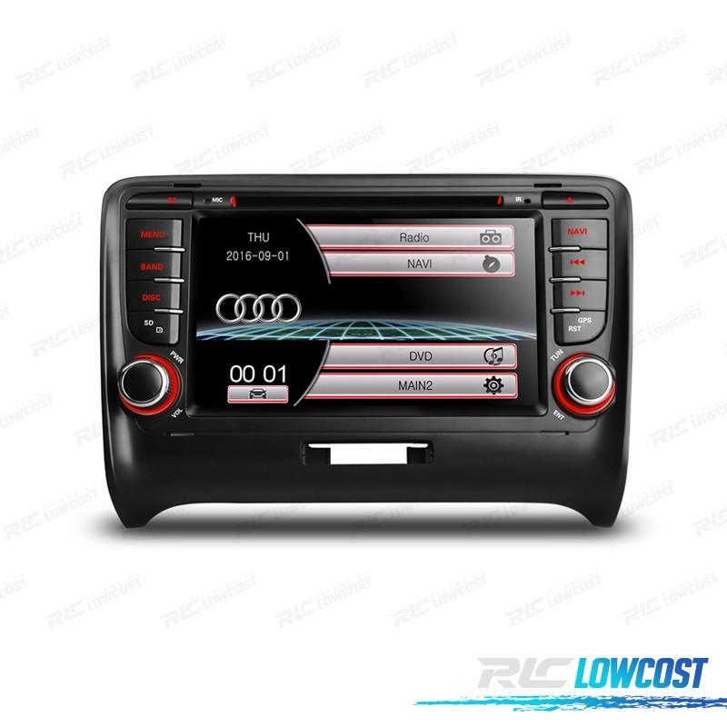 "RADIO NAVEGADOR 7"" AUDI TT 06-12 USB GPS TACTIL HD*NUEVO*"