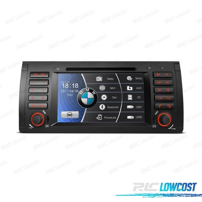 "RADIO NAVEGADOR 7"" BMW X5 E53 99-06 SERIE 5 E39 95-03 USB GPS TACTIL HD*NUEVO*"