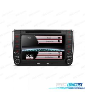 "AUTO RADIO 2DIN 7"" SEAT / SKODA / VOLKSWAGEN USB GPS TACTIL HD"