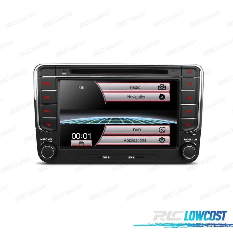 "RADIO NAVEGADOR 7"" SEAT / SKODA / VOLKSWAGEN USB GPS TACTIL HD"