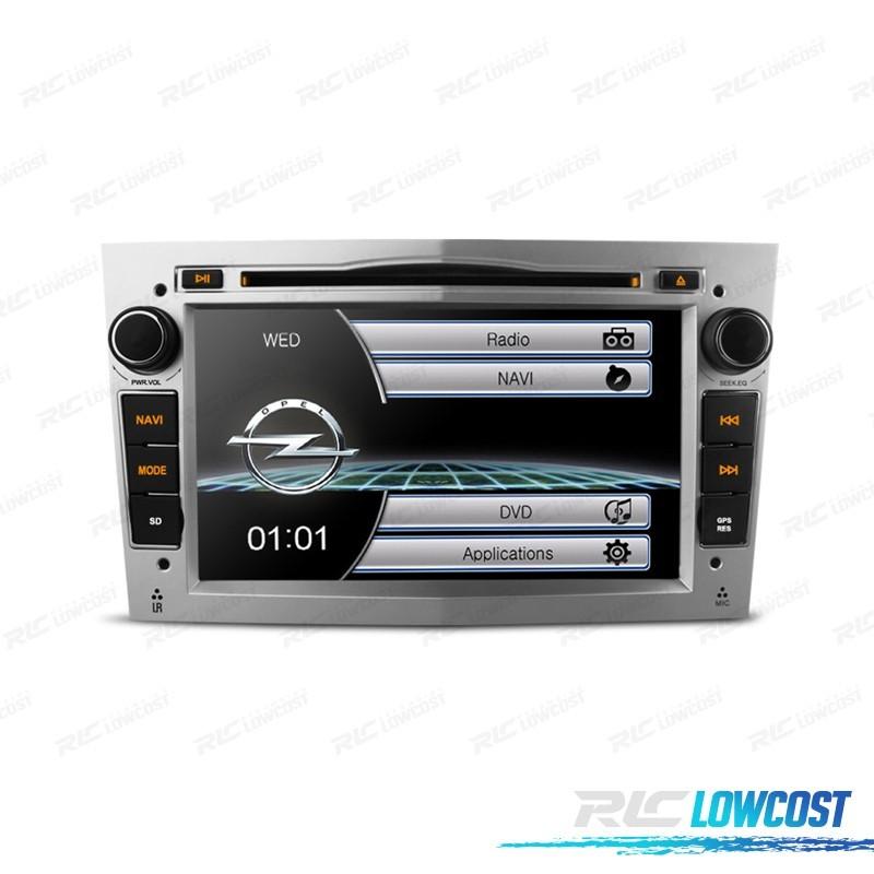 """RADIO NAVEGADOR 7"""" OPEL COLOR GRIS CLARO USB GPS TACTIL HD*NUEVO*"""