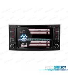 """RADIO NAVEGADOR 7"""" VOLKSWAGEN TOUAREG / T5 04-11 USB GPS TACTIL HD"""