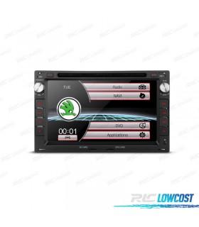 "RADIO NAVEGADOR 7"" SKODA OCTAVIA / SUPERB USB GPS TACTIL HD"