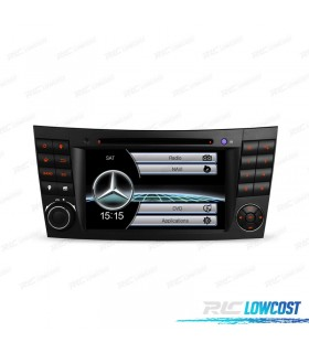 "AUTO RADIO TIPO OEM 7"" MERCEDES CL. E W211 / CLS W219 USB GPS TACTIL HD"