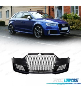 PARACHOQUES FRONTAL AUDI A3 8V 12-16 LOOK RS3 PDC/SRA