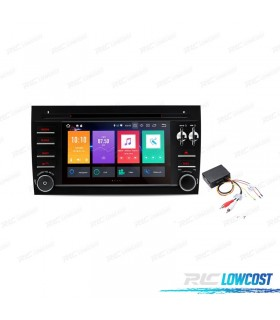 """AUTO RADIO 2DIN ANDROID 8.0 TIPO OEM PORSCHE CAYENNE 03-07 USB GPS TACTIL 7"""" HD"""