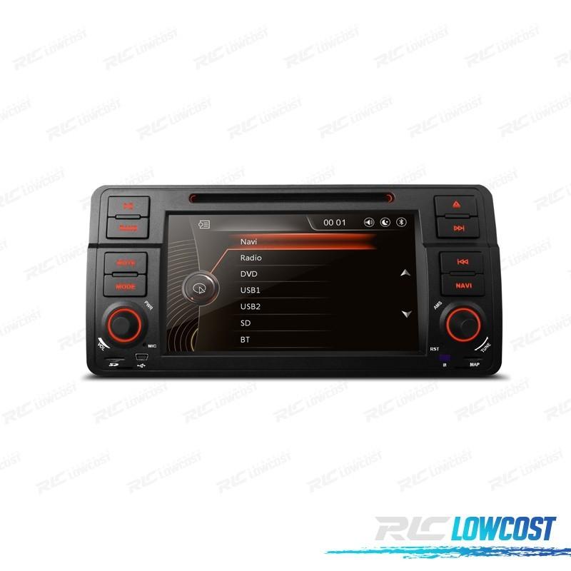 "RADIO NAVEGADOR 7"" BMW SERIE 3 E46 98-06 USB GPS TACTIL HD"
