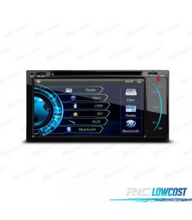 "RADIO NAVEGADOR 2DIN GPS 7"" HD TÁCTIL TOYOTA BLUETOOTH USB SD"