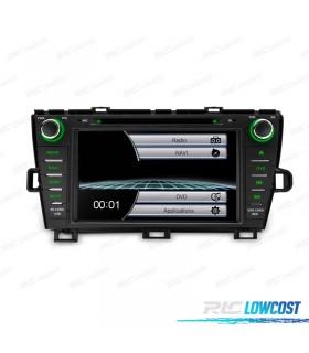 "RADIO NAVEGADOR 8"" TOYOTA PRIUS 09-13 USB GPS TACTIL HD"