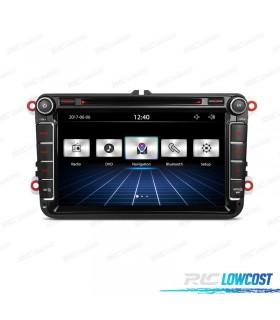 "AUTO RADIO 2DIN 7"" VOLKSWAGEN USB GPS TACTIL HD"