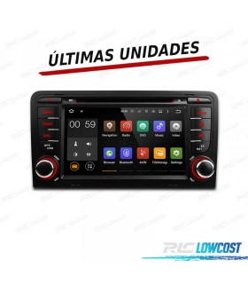 "AUTO RADIO 2DIN ANDROID 5.1 7"" AUDI A3 8P/8PA 03-12 USB GPS TACTIL HD"