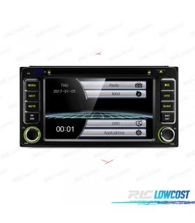 "AUTO RADIO 2DIN GPS 7"" HD TÁCTIL TOYOTA BLUETOOTH USB SD"