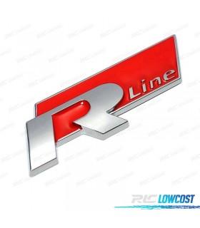 EMBLEMA R-LINE VERMELHO*REVISADO*