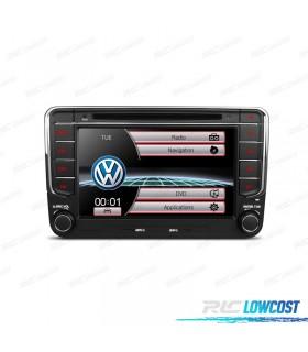 """AUTO RADIO 2DIN 7"""" VOLKSWAGEN USB GPS TACTIL HD GRATIS"""