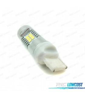LÂMPADA LED T20 W21W AMBAR CANBUS